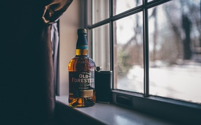 Picture background, whiskey, Old Forester