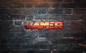 Picture Design, Lights, Wall, Light, The inscription, Metal, Gamer, Player, Art Shift, Desing