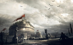 Picture assassins creed, game, brotherhood, ubisoft, rome