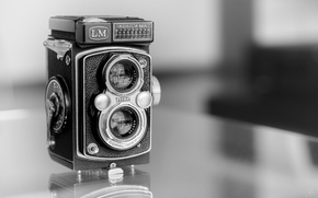 Picture macro, camera, Yashica Mat LM