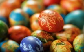 Picture Easter, eggs, prazdnik