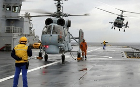 Picture Navy, Ka-27, Ka-29, carrier-based helicopters