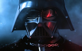 Wallpaper mask, glare, chain, Star Wars, Darth Vader