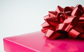 Wallpaper gift, bow, gift, gift box