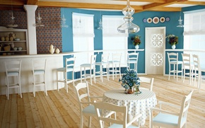 Picture design, style, comfort, interior, cafes