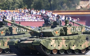 Picture soldiers, military, tanks, Chinese, type99a