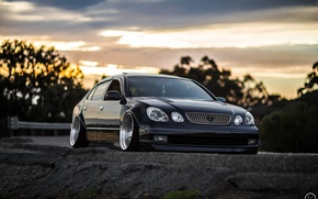 Picture car, tuning, stance, Lexus GS