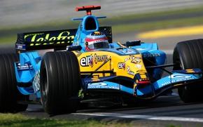 Picture formula 1, Motorsport, f-1, RENAULT R25