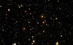 Wallpaper ultra, Hubble, deep, field