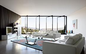 Picture design, house, style, room, Villa, interior