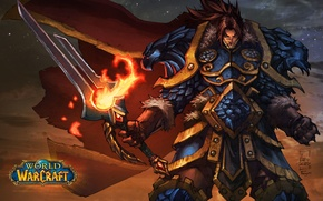 Picture Warcraft, Varian Wrynn, the king of Stormwind