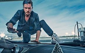 Wallpaper photoshoot, brand, Kit Harington, Kit Harington, Jimmy Choo, November 2014
