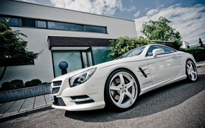 Picture machine, tuning, beauty, power, drives, mercedec