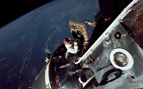 Picture Earth, NASA, astronaut, Apollo 9