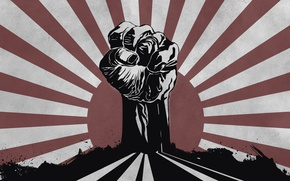 Wallpaper fight, power, fist, power, the sun, Fight 4 your Rights, right, your, fight