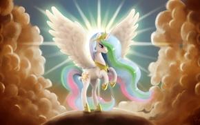 Picture wings, pony, Princess, My Little Pony, Celestia