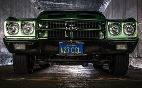 Picture retro, Chevrolet, classic, the front, Chevelle