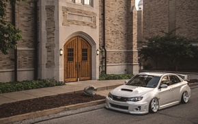 Picture Subaru, Impreza, WRX, STi, JDM, Stance, Low, BellyScrapers, Rotiform