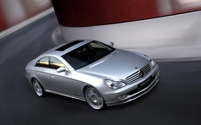 Picture machine, Mercedes-Benz, CLS