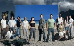 Wallpaper Terry O Quinn, Young-Jin Kim, Emilie de Ravin, Jorge Garcia, Naveen Andrews, to stay alive, ...