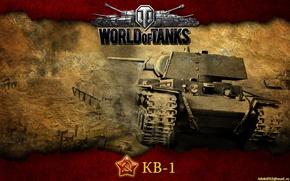 Picture tank, USSR, tanks, WoT, World of Tanks, KV-1