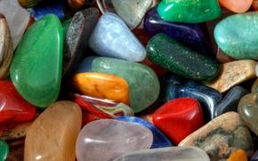 Picture sea, nature, pebbles, stones, shore, color, pebbles