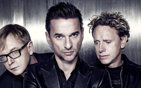 Picture men, musicians, the legendary band, Depeche mode, Andrew Fletcher, Herald of fashion, Martin Gore, David …