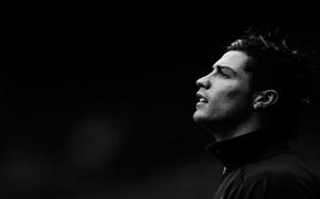Wallpaper football, Cristiano Ronaldo, profile