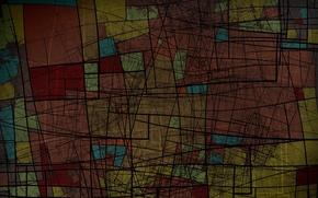 Picture color, line, figure