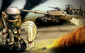 Picture the game, art, tank, pony, My Little Pony
