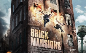 Picture Paul Walker, Paul Walker, David Belle, Damien, Brick mansion, Brick Mansions, Lino, David Belle
