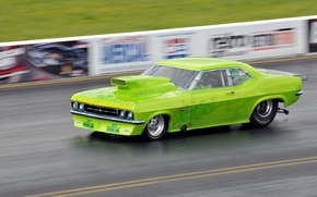Picture style, race, speed, track, airbrushing, muscle car, drag racing
