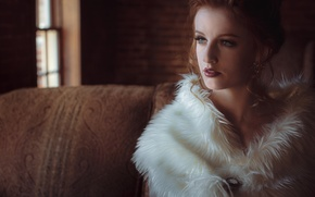 Picture look, face, style, portrait, fur, MacKenzie Deighan