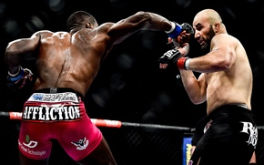 Picture blow, fighters, mma, ufc, fighters, mixed martial arts, Phil Davis, Glover Teixeira