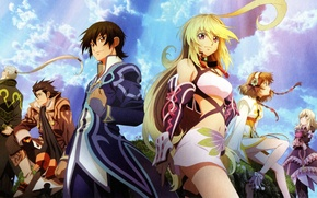 Picture the game, anime, heroes, Tales of Xillia