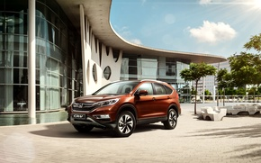 Wallpaper CR-V, CR-V, Honda, 2015, Honda, CIS-spec