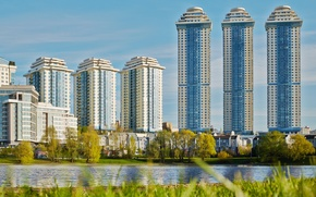 Picture home, Moscow, capital, complex, Gory