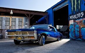 Picture lowrider, chevrolet, 1968, impala