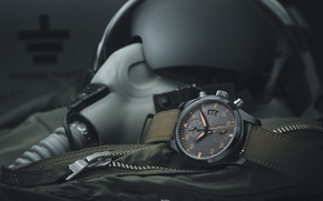 Picture watch, helmet, pilot, flying, military, military, watch, pilot, pearls, flight