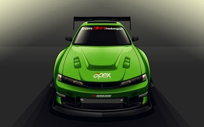 Picture Silvia, Nissan, S14, Drift Spec Vector, by Edcgraphic