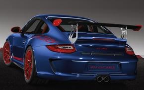 Picture 911, Porsche, supercar, Porsche, rear view, GT3, GT3