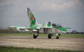 Picture the sky, height, flight, attack, the plane, BBC, airplane, Air Force, Yakovlev, The Yak-130, combat ...