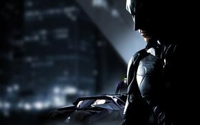 Picture Batman, Batmobile, Joker