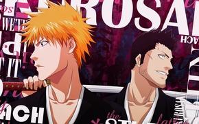 Picture sword, game, Bleach, anime, katana, Ichigo, asian, Kurosaki Ichigo, manga, japanese, oriental, asiatic, powerful, strong, …