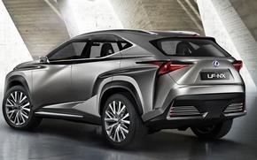 Wallpaper Lexus, crossover, NF-NX