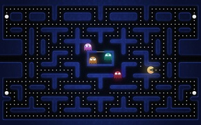 Picture the game, Pacman, namco, PAC-man