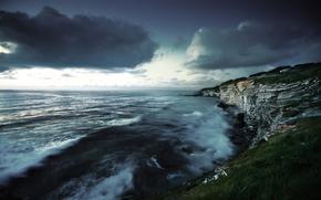 Picture clouds, clouds, France, saint jean de luz