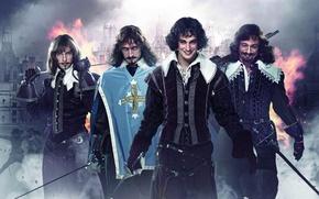 Picture Alexey Makarov, Yuri Chursin, Aramis, Pavel Barshak, The three Musketeers, Rinal Mukhametov, d'artagnan, Athos, Porthos