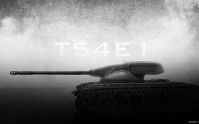 Picture tank, USA, USA, tanks, WoT, World of Tanks, Wargaming.Net, T54E1