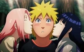 Picture love, game, Naruto, Sakura, anime, kiss, ninja, asian, manga, Uzumaki, shinobi, Haruno, japanese, Haruno Sakura, …
